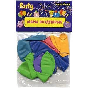 Воздушные шары Action! 25 см, 10 шт
