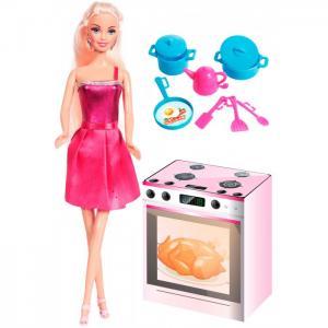 Набор Кукла Ася Я люблю готовить Toys Lab