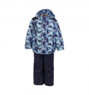 Комплект куртка/полукомбинезон  Аргос, цвет: синий/голубой Oldos