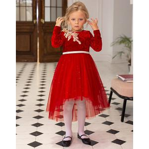 Нарядное платье  Dart Unona. Цвет: красный