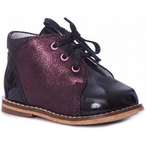 Ботинки Тотто. Цвет: черный