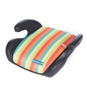 Автокресло-бустер  Boost, цвет: разноцветные полоски BabyHit