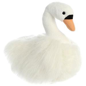 Мягкая игрушка  Лебедь, 25 см AURORA