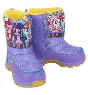 Сапоги  My Little Pony, цвет: фиолетовый Kakadu