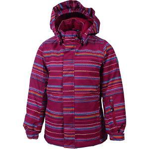 Утеплённая куртка Color Kids Donja. Цвет: розовый