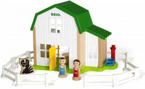 Деревянная игрушка  Набор Мой родной дом Загородный Brio