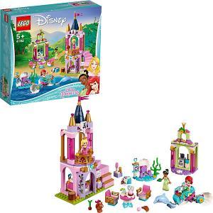 Конструктор  Disney Princess 41162: Королевский праздник Ариэль, Авроры и Тианы LEGO