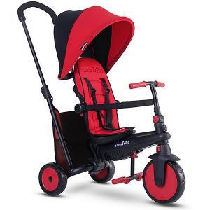 Трехколесный велосипед , красный Smart Trike. Цвет: красный