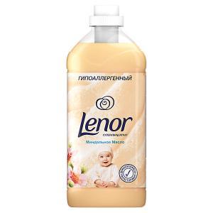 Кондиционер для белья  Концентрат чувствительной кожи Миндальное масло 2 л Lenor. Цвет: weiß/beige