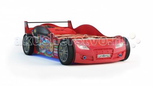 Подростковая кровать  Машина RX 800 с подсветкой Grifon Style