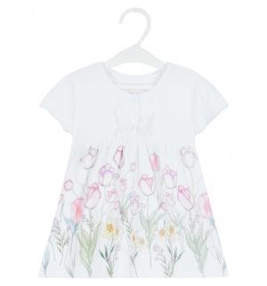 Платье  Тюльпаны, цвет: белый Free Age