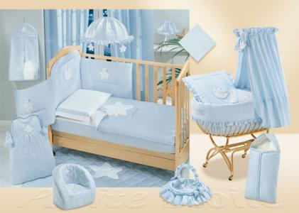 Комплект в кроватку  Petite Etoile 140х70 (5 предметов) Italbaby