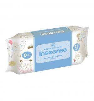 Влажные салфетки  детские антибактериальные, 22 шт Insinse