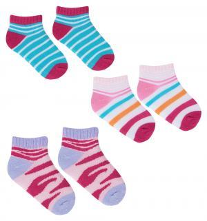 Носки , цвет: розовый Luvable Friends