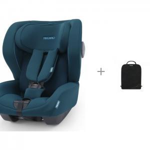 Автокресло  Kio Select с защитным ковриком на спинку передних автомобильных сидений Brica Munchkin Recaro