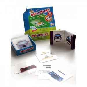 Развивающая игрушка  Пазл конструктор Микскод Машинки Pic`n Mix