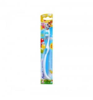 Зубная щетка  Cats Steps, цвет: голубой Fresh&White