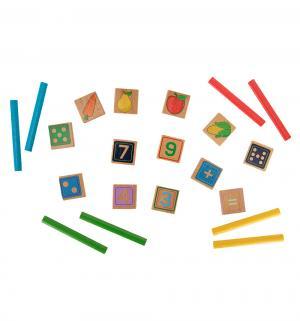 Счет арифметический  135 элементов 40 цв. Палочек Lucy&Leo