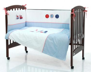 Комплект в кроватку  Baby Car 120x60 (5 предметов) Funnababy