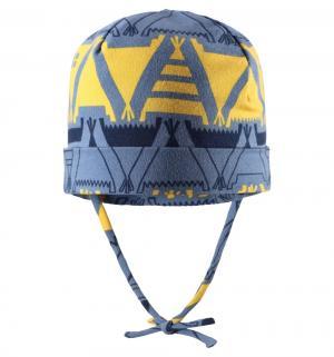 Шапка , цвет: синий/желтый Reima