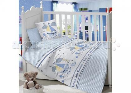 Комплект в кроватку  Кораблик (6 предметов) Idea Kids