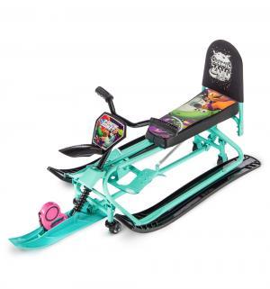 Снегокат-трансформер Snow Comet 2 , цвет: аква Small Rider