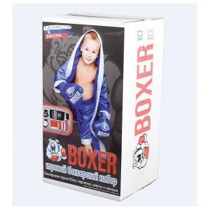 Игровой набор для бокса Боксер  №3, в подарочной упаковке, 50 см Лидер