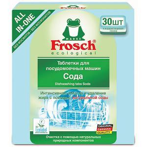 Таблетки для мытья посуды  Сода, 30 шт Frosch