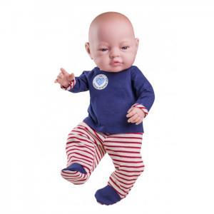 Кукла Бэби мальчик в красных ползунках 45 см Paola Reina