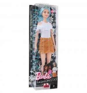 Кукла  Игра с модой бело-песочное платье 30 см Barbie
