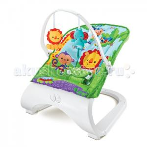 Кресло-качалка с игрушками и вибрацией Forest Friends 88929 FitchBaby