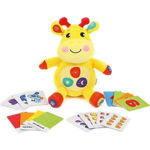 Обучающая игрушка  Умный Жирафик Жирафики. Цвет: желтый