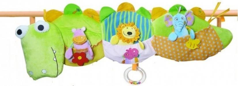 Подвесная игрушка  Мои друзья из джунглей Biba Toys