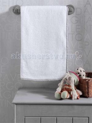 Плед  Blossom Linen White велсофт Kidboo