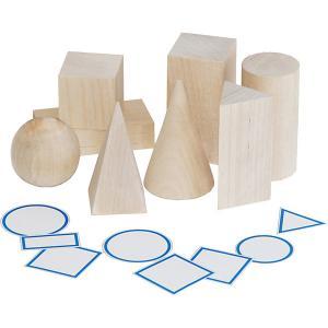 Обучающий набор  Геометрические тела Краснокамская игрушка