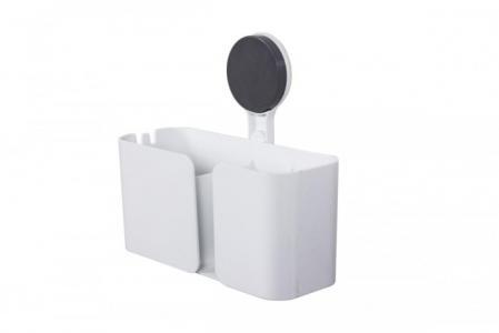Полка-держатель в ванную комнату на липучке Bradex