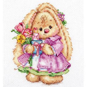 Набор для вышивания  Зайка Ми Весна 10х13 см Алиса