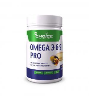 Кислоты  полиненасыщенные жирные Omega 3-6-9, 90 капс Mychoice Nutrition