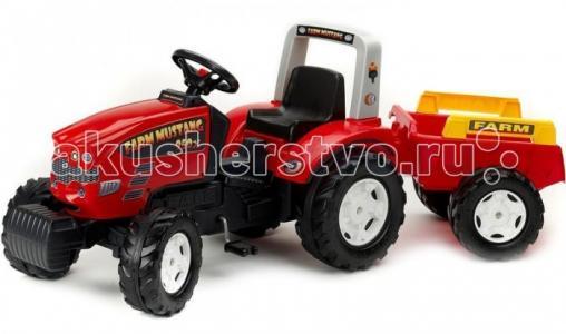 Трактор педальный с прицепом Falk