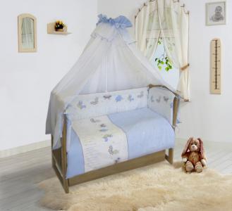 Комплект в кроватку  Ласковое лето (7 предметов) 20105 Soni Kids