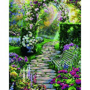 Картина по номерам Прекрасный сад 40х50 см Schipper