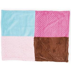Плед для девочки Hudson Baby. Цвет: розовый