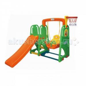 Детский игровой комплекс для дома и улицы Винни Пух JM-831P Happy Box