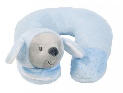 Игрушка мягкая Подголовник Neck pillow Sam & Toby Овечка Nattou