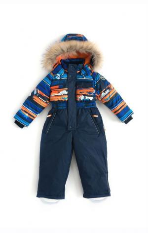 Комбинезон Roope, цвет: синий/оранжевый Nels