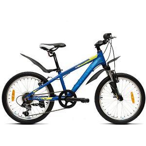 Велосипед  Peak 20, синий Welt. Цвет: синий