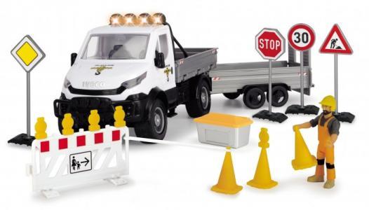 Playlife Набор Ремонт дороги с дорожными знаками (19 предметов) Dickie