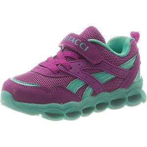 Кроссовки  для девочки Vitacci. Цвет: лиловый