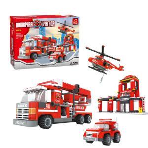 Конструктор  Пожарная бригада Ausini