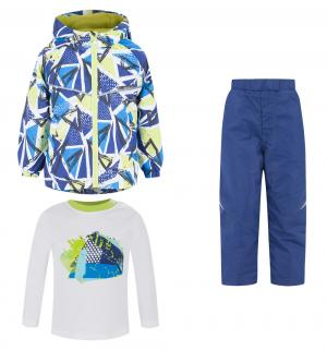, Комплект детский (куртка+брюки+джемпер), (син), р. 80 Bony Kids